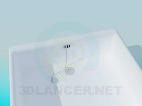 3d model Shower tray - preview