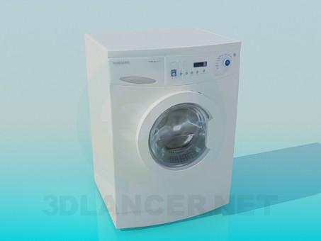 3d modeling Washer Samsung model free download