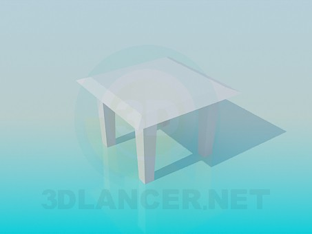 modelo 3D Taburete - escuchar