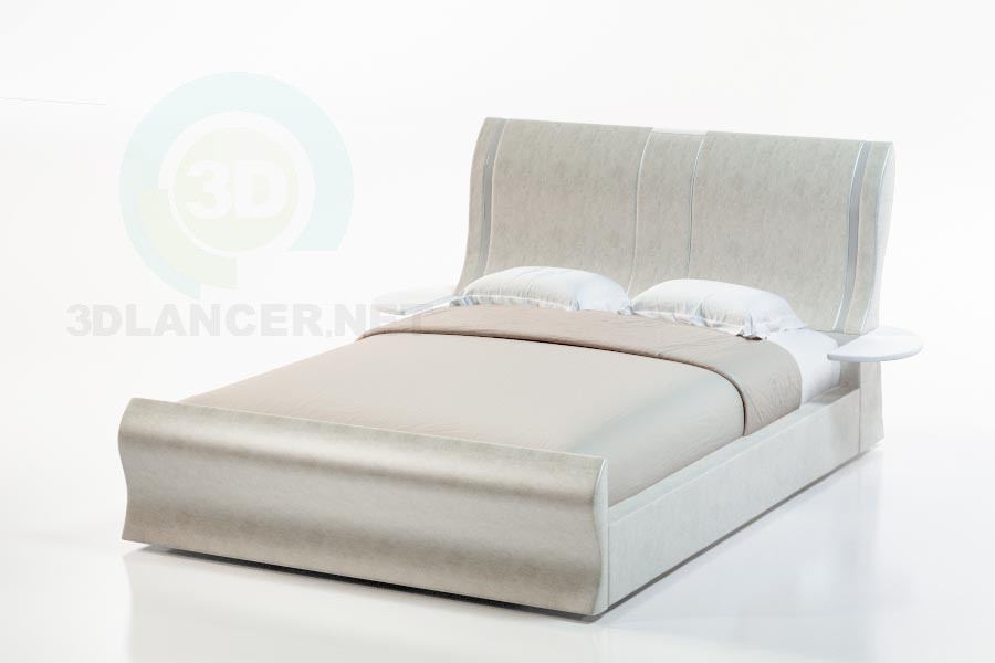 3d модель Ліжко Ріоні – превью