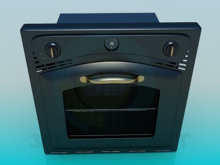 3d model Oven - preview