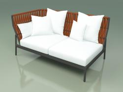 Sofa module right 104 (Belt Orange)