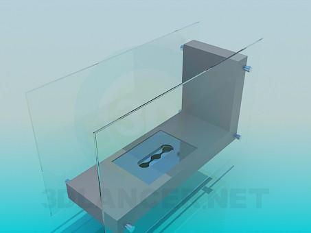 3d model Brush holder - preview