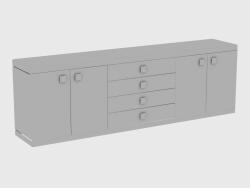Шкафчик BAKU CABINET MIRROR (270x50xH84)