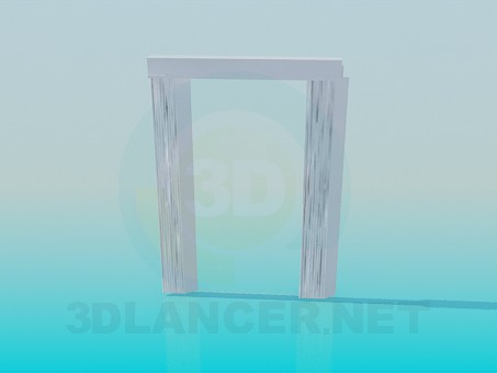 3d modeling Curtains model free download