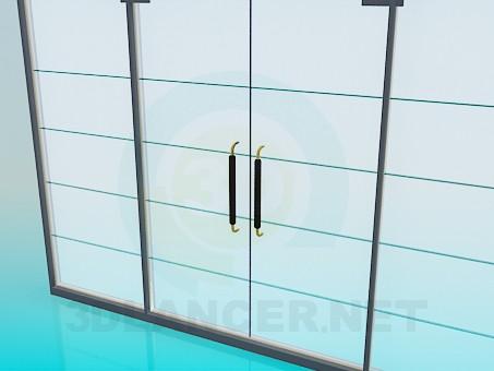 3d model Sliding door mat - preview