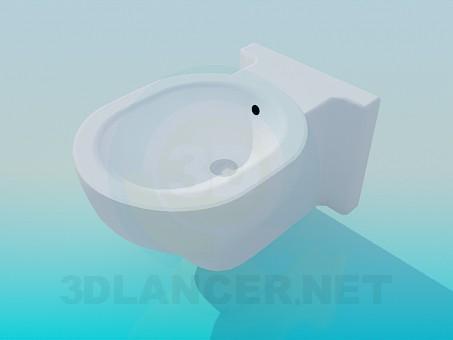 3d model The original toilet - preview