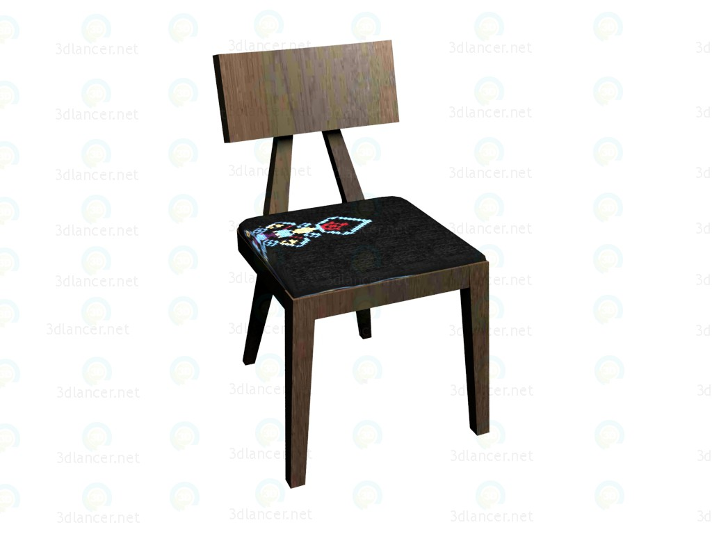 3d model Chair VOX - preview
