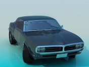 Auto Pontiac Firebird 67`