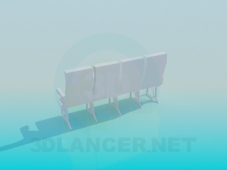 3d model Sealed seat - preview