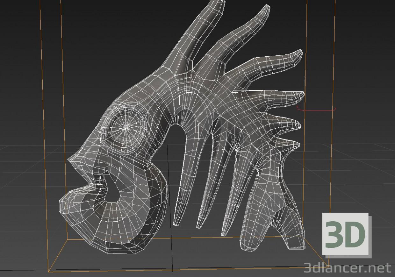 3d Fish figurine. model buy - render