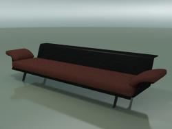 Module central Lounge 4421 (L 270 cm, Noir)