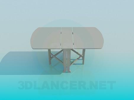 modelo 3D Libro de la mesa - escuchar