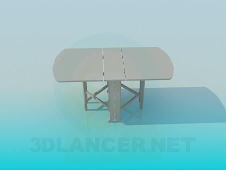 3d модель Стіл-книжка – превью