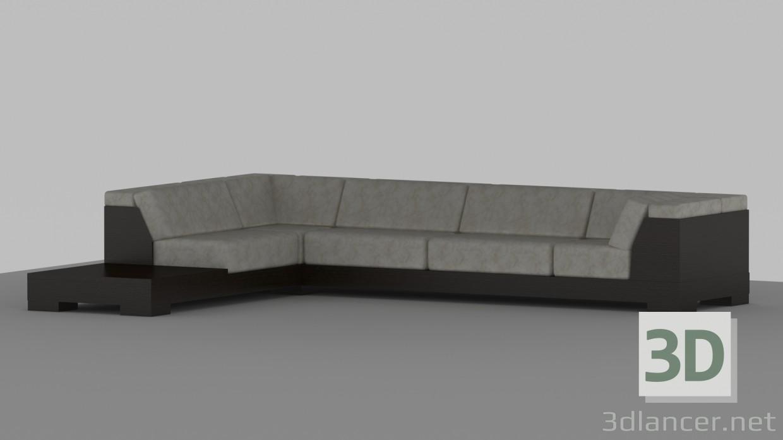 3D modeli Kanepe by_TRS - önizleme