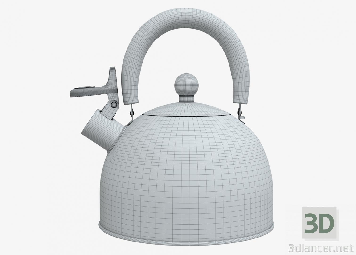 3d Whistle kettle model buy - render
