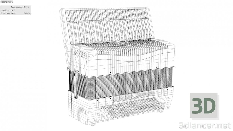 3d model Hohner Ventura - preview