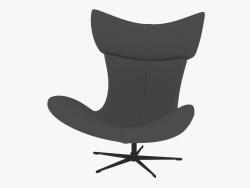 Armchair leather Imola