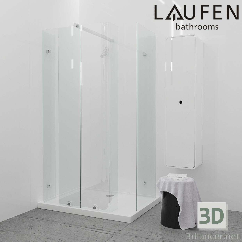 3d model Shower Enclosure SRGF-048 - preview