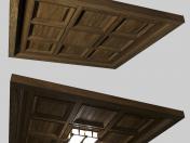 लकड़ी की छत की डिजाइन