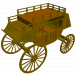 3d model Stagecoach - preview