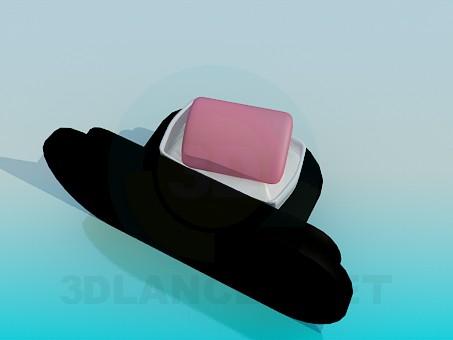3d модель Підвісна підставка для мильниці – превью