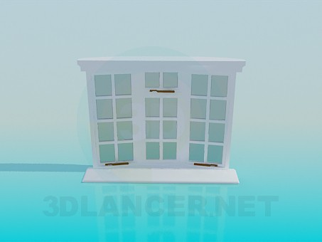 3d modeling Window model free download