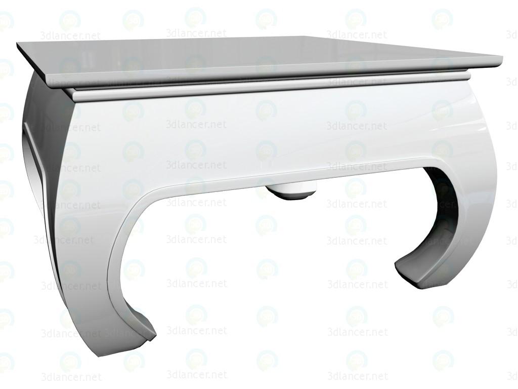 3d модель Стол кофейный Opium White 60x60 – превью