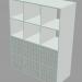 3d Shelving model buy - render