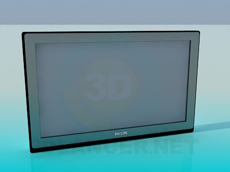 3d model TV PHILIPS - vista previa