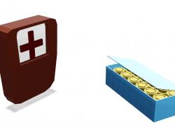 Kit médico de cartuchos