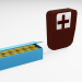 3d Cartridges medical kit model buy - render