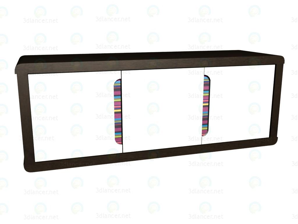 3d модель Полка узкая VOX – превью