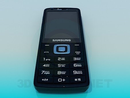 3d model Mobile Phone Samsung - preview