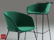 LaForma Chair ZADINE + Bar Chair ZADINE