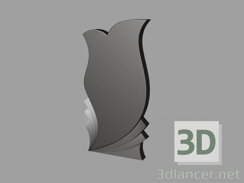3d model Stela 5 - preview