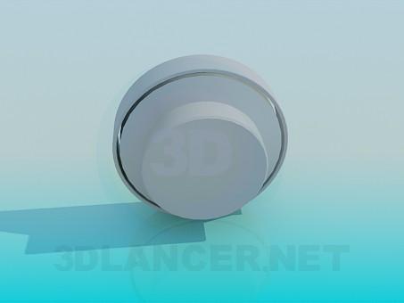 modelo 3D Bombilla de luz - escuchar