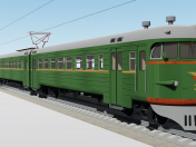 Electric train ER2