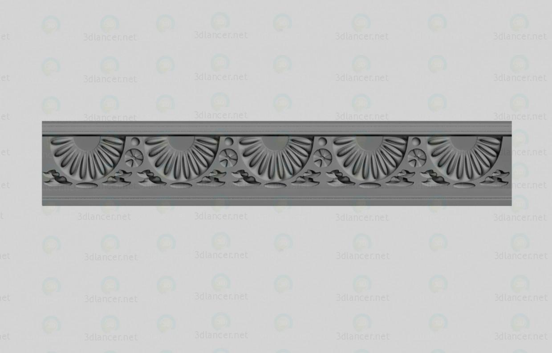 3d модель Карниз декоративний – превью