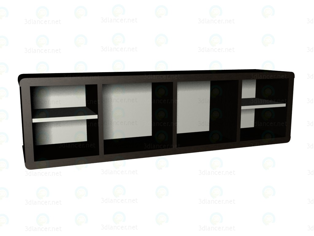 3d model Shelf wide VOX - preview