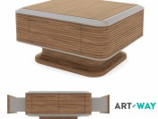 "Coffee table ""Estet Walnut"""