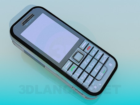 3d model Nokia 6233 - preview