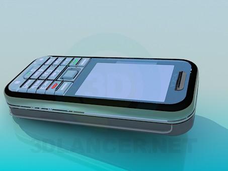 3d модель Nokia 6233 – превью