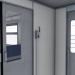 3d Electric train ED2T model buy - render