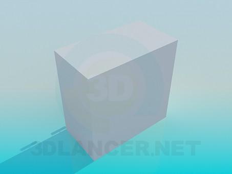 modelo 3D Armario para habitación de niño - escuchar