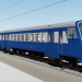 3d Electric train ED4M model buy - render