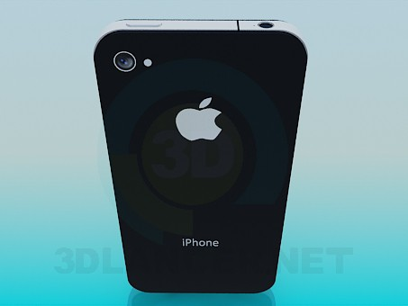 3d model IPhone - preview