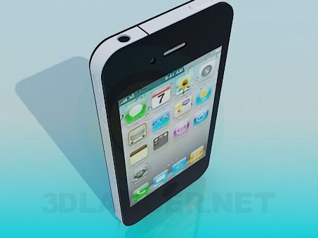 modelo 3D IPhone - escuchar