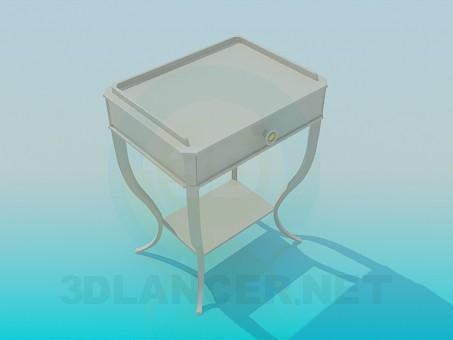 modelo 3D Mesa para periódicos - escuchar