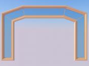 Wide arch
